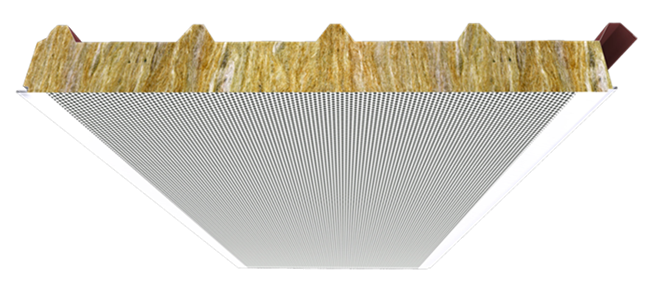 FTB - Sandwich panels with mineral wool insulation core